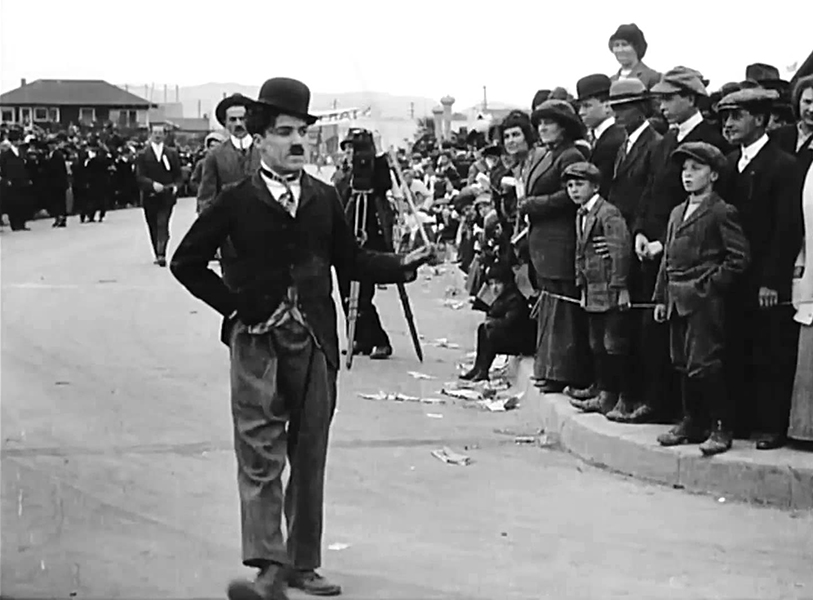 Chaplin Day at the Races 1914