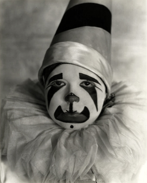 Clara Bow Clown