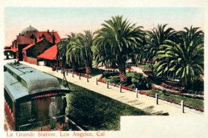 La Grande Station 1905 Los Angeles