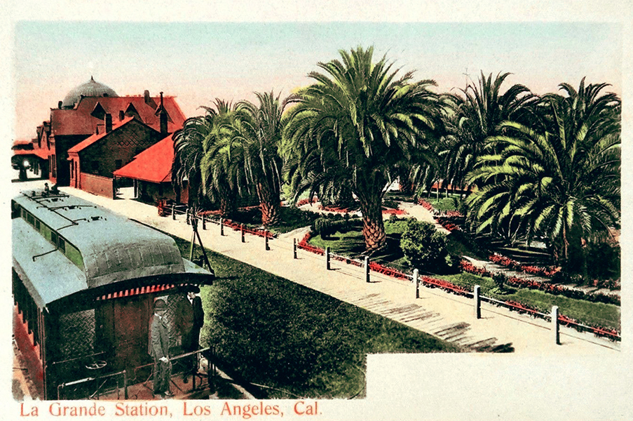 La Grande Station 1905 Los Angeles