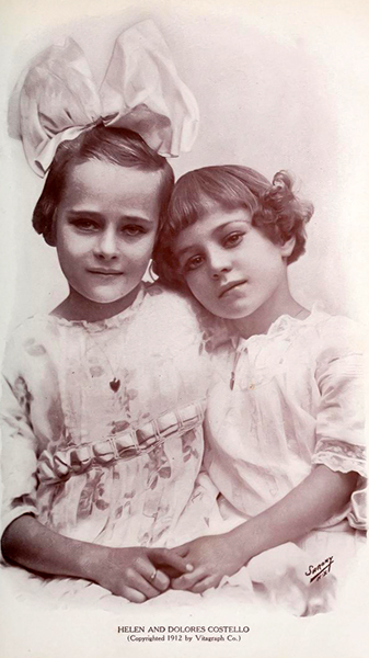 Helene and Dolores Costello (Bizarre Los Angeles)