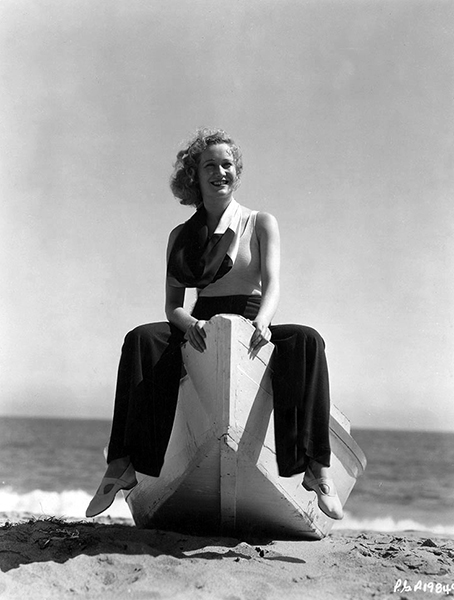 Miriam Hopkins beach