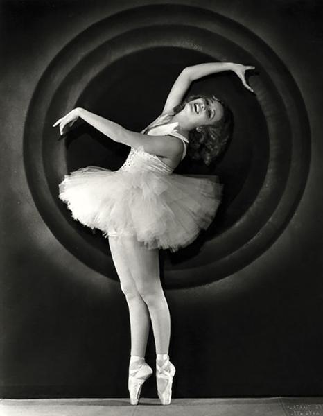 Miriam Hopkins Toe Dancer