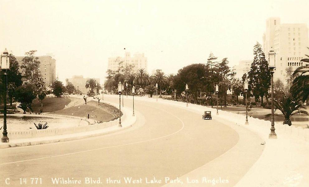 Wilshire Blvd Westlake Park