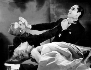 The Black Cat Boris Karloff Bela Lugosi