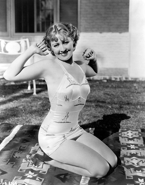 """I was the fizz on the soda."" -- Joan Blondell (Bizarre Los Angeles)"