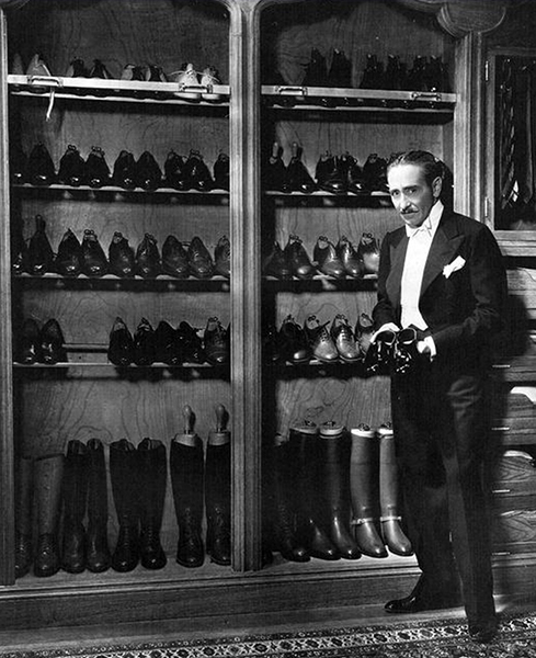 Adolphe Menjou shoes