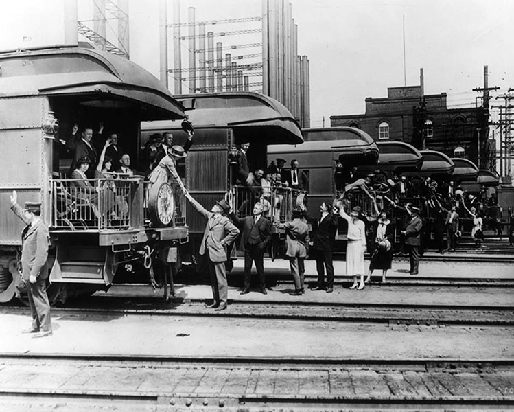 Santa Fe Train Station 1924