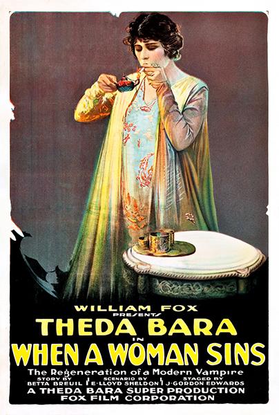 When a Woman Sins Theda Bara 1918