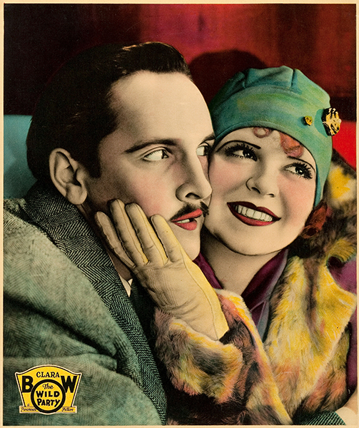 Clara Bow Fredric March The Wild Party