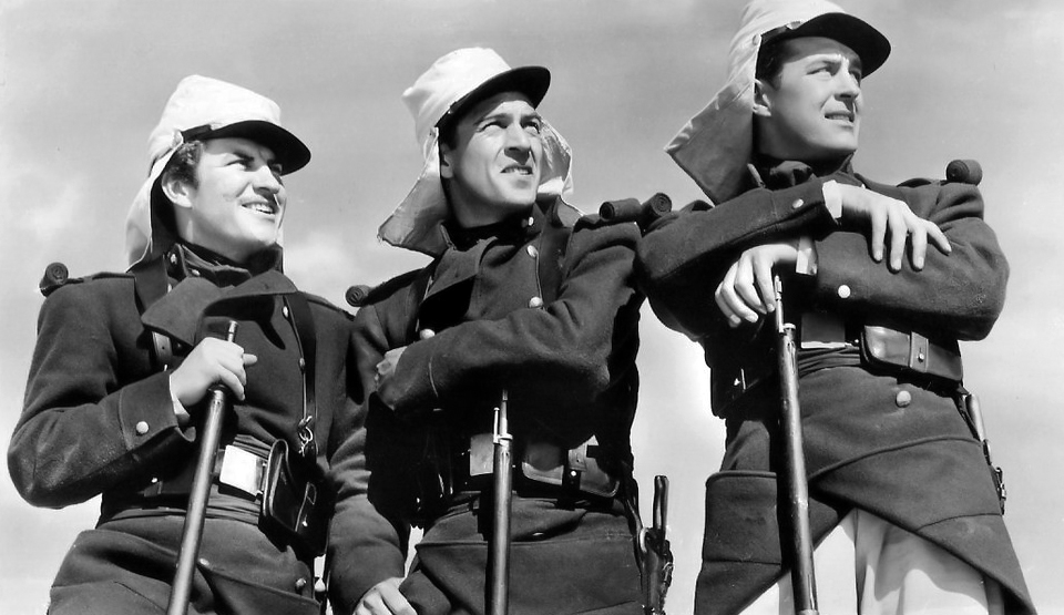 Beau Geste (1939). With Robert Preston, Gary Cooper and Ray Milland. (Bizarre Los Angeles)