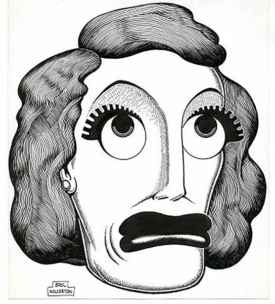 Joan Crawford Caricature