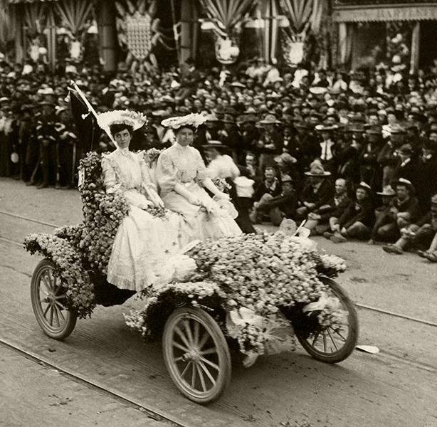 Floral Parade Presidential visit