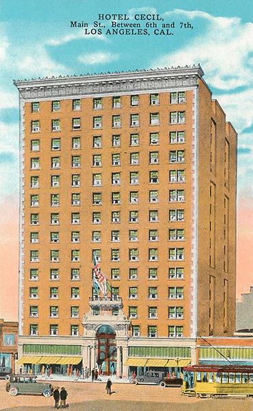 Cecil Hotel suicide