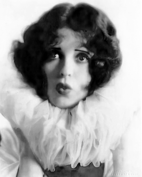 """I think that wildly gay people are usually hiding from something in themselves. They dare not be quiet, for there is no peace nor serenity in their soul. The best life has taught them is to snatch at every moment of fun and excitement, because they feel that fate is going to hit them over the head with a club at the first opportunity."" -- Clara Bow (Bizarre Los Angeles)"