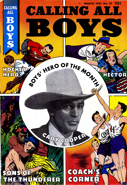 Gary Cooper Comic book