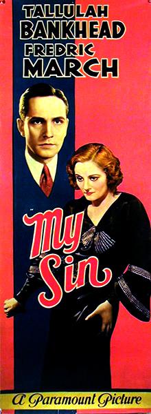 My Sin - 1931