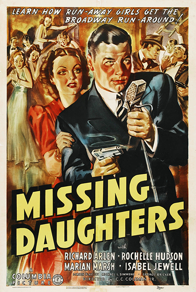 Missing Daughters 1939