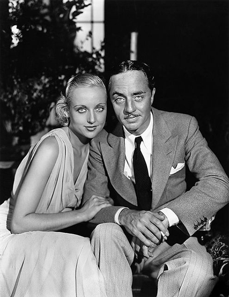 Carole Lombard and William Powell (Bizarre Los Angeles)