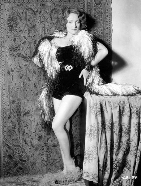 Marlene Dietrich in Morocco (Bizarre Los Angeles)