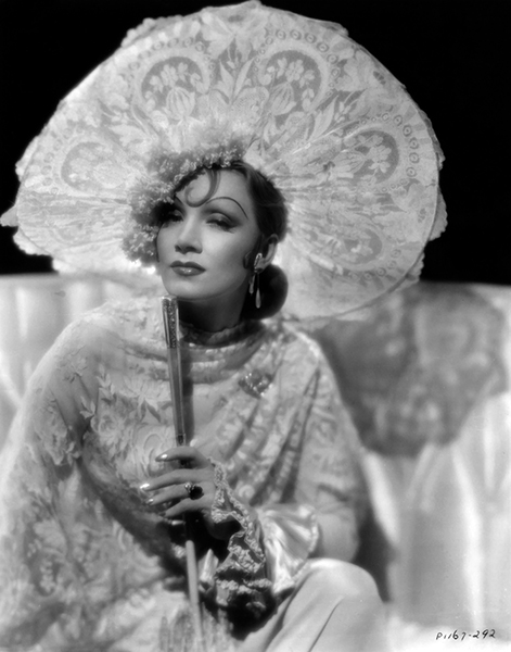 "Marlene Dietrich from ""The Devil is a Woman"" (1935). Bizarre Los Angeles"
