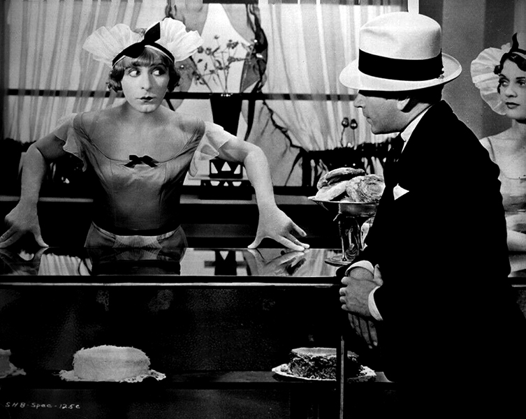 "Before ""Some Like It Hot,"" George Raft was duped again...only it was by Eddie Cantor in ""Palmy Days."" (Bizarre Los Angeles)"