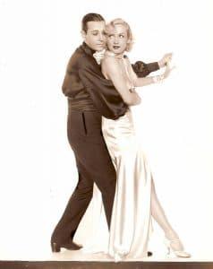"""George Raft and Carole Lombard in """"Bolero"""" (Bizarre Los Angeles)"""