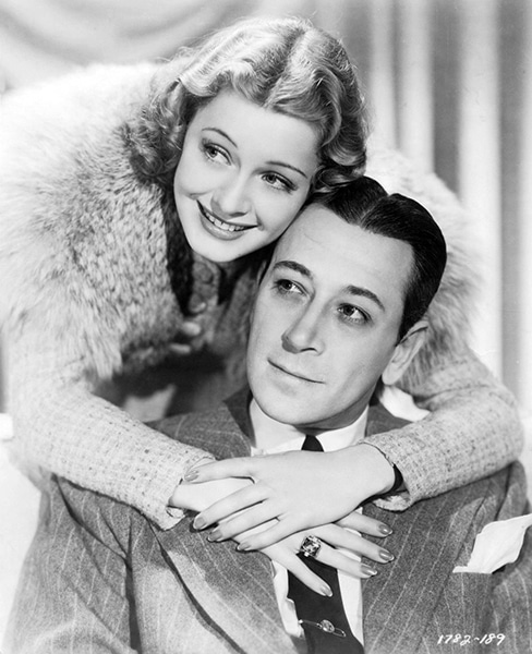 "George Raft and Ellen Drew in ""The Lady's from Kentucky"" (1939). Bizarre Los Angeles"