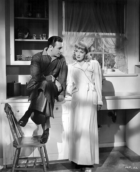 "George Raft and Marlene Dietrich in ""Manpower."" Bizarre Los Angeles"