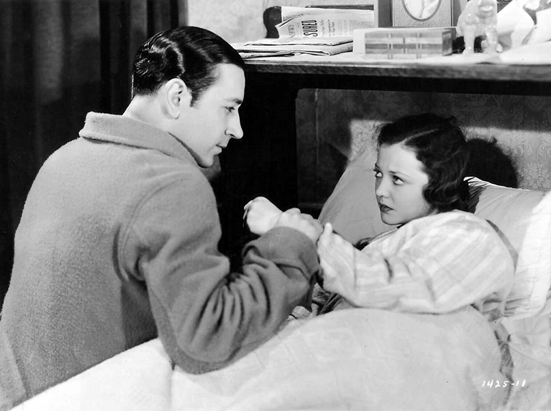 "George Raft and Sylvia Sidney in a scene from ""Pick Up"" (1933). Bizarre Los Angeles"