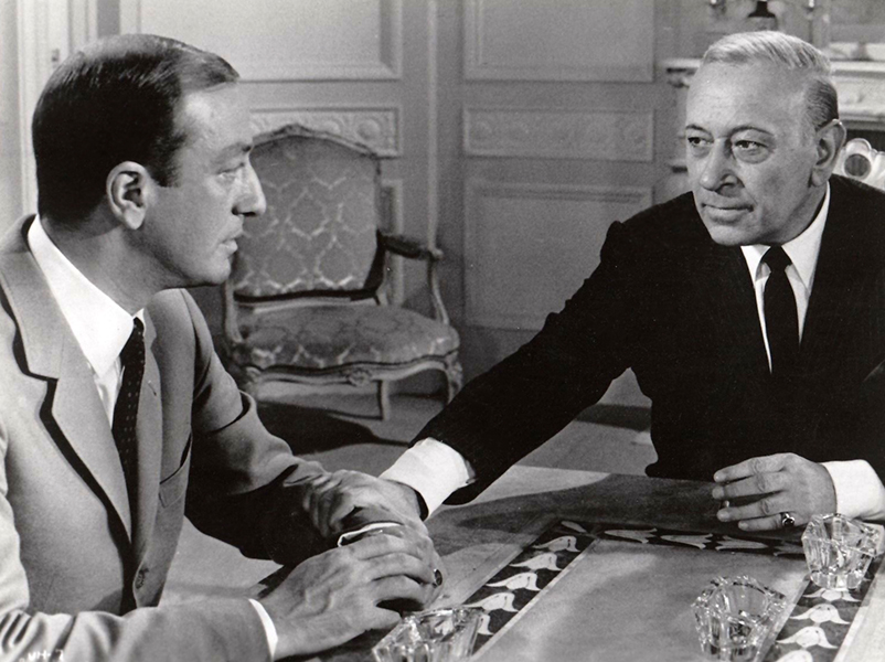 George Raft in The Upper Hand (1965). Bizarre Los Angeles