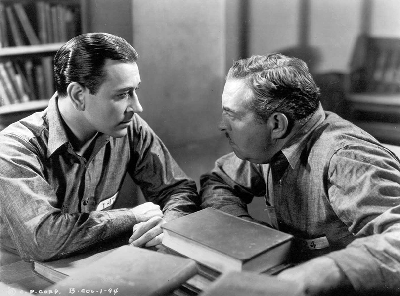 "George Raft and Walter Connally ""She Couldn't Take It"" (1935). Bizarre Los Angeles"