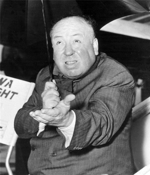Alfred Hitchcock (Bizarre Los Angeles)