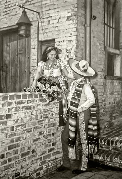 Olvera Street 1940s