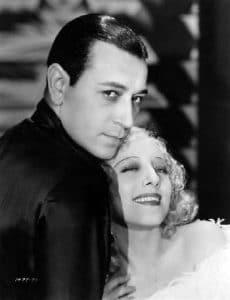 "George Raft and Sally Rand in ""Bolero"" (1934) Bizarre Los Angeles"