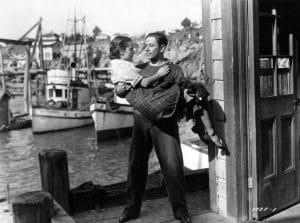 """Dorothy Lamour and George Raft in """"Spawn of the North"""" (Bizarre Los Angeles)"""