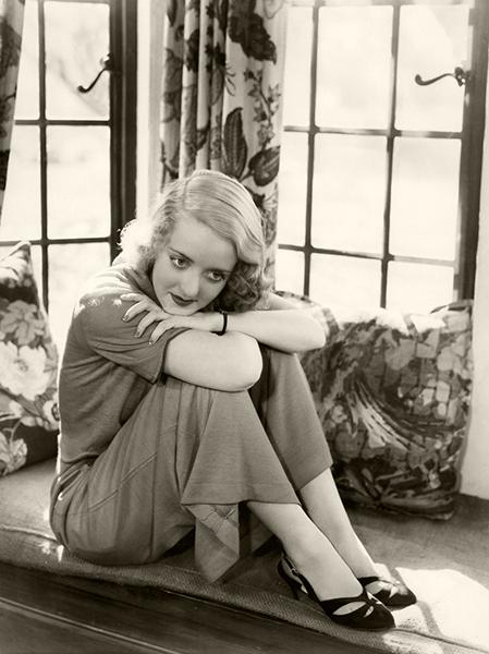 Bette Davis candid