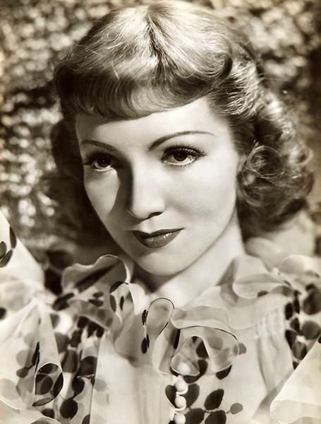 Claudette Colbert 1938