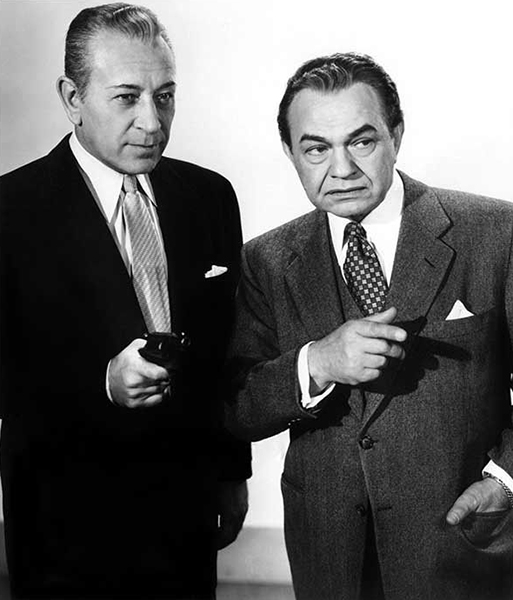 """His range was limited. He always played George Raft. but that character - there was no other like it - always evoked a sympathetic response and identification from a mass audience."" – Edward G. Robinson (Bizarre Los Angeles)"