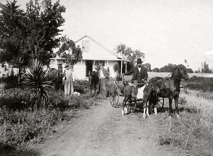 MARIE' S RANCH near Compton, CA, C. 1900. Bizarre Los Angeles