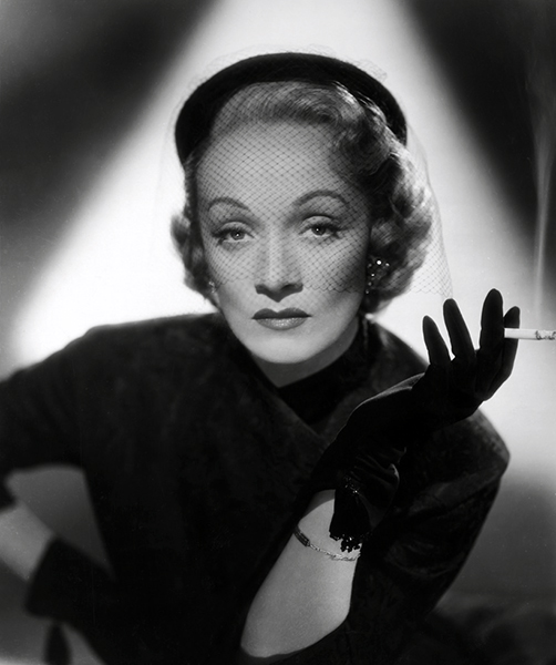 """What do people expect to see? They shouldn't make so much of this. I don't think most people change much in 10 years. If they would look at their old snapshots I think they'd find they seem very much the same."" -- Marlene Dietrich (Bizarre Los Angeles)"