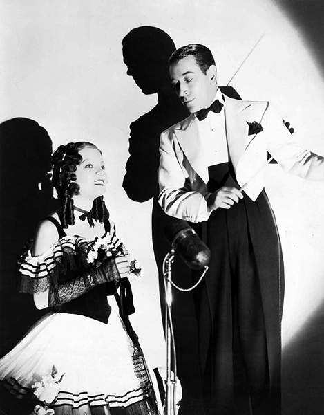 """Alice Faye and George Raft in """"Every Night at Eight"""" (1935). Bizarre Los Angeles"""