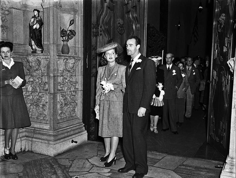Bette Davis wedding 1945