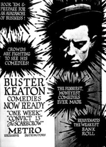 Buster Keaton ad