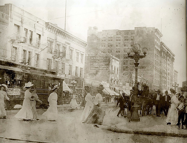 Main Street Los Angeles 1900s