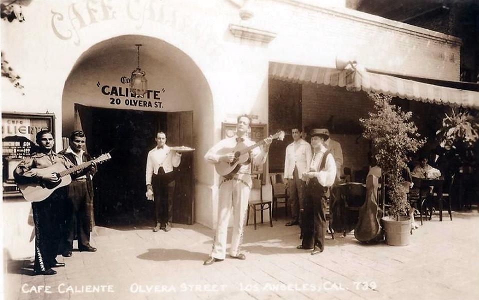 Cafe Caliente Olvera Street