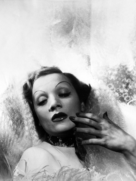 """The creation of Marlene Dietrich was her life's duty. I think it's a tragedy."" -- Maria Riva, her daughter. Bizarre Los Angeles."