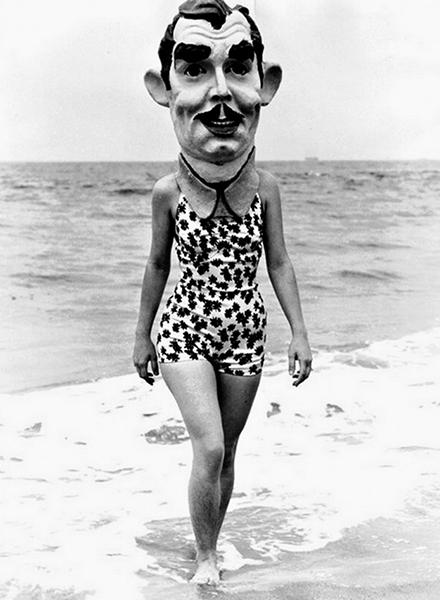 Venice Beach, circa 1936. (LAPL)