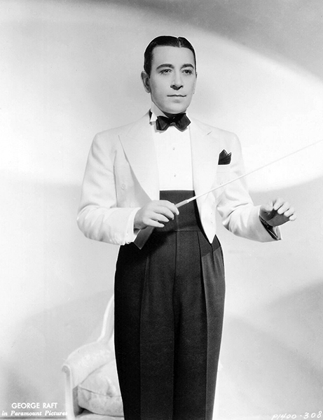 """George Raft in """"Every Night at Eight"""" (1935). Bizarre Los Angeles"""
