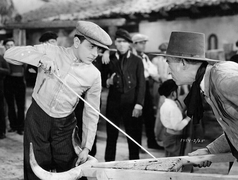 "George Raft in ""The Trumpet Blows"" (1934) Bizarre Los Angeles"